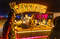 Blowing Minds at Sammiches - They were not ready for what Sarge told them. Video of Sarge getting a high five shot my friend Michael. https://www.facebook.com/3409701/videos/522464078843783/ - https://Duncan.co/Burning-Man-2021