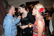 MITCH GRIFFITHS; LOIS WINSTONE; JAIME WINSTONE;, Opening of 'The Promised Land' Exhibition of work by Mitch Griffiths. Halcyon Gallery. Bruton St. London. 28 April 2010 *** Local Caption *** -DO NOT ARCHIVE-© Copyright Photograph by Dafydd Jones. 248 Clapham Rd. London SW9 0PZ. Tel 0207 820 0771. www.dafjones.com.<br /> MITCH GRIFFITHS; LOIS WINSTONE; JAIME WINSTONE;, Opening of 'The Promised Land' Exhibition of work by Mitch Griffiths. Halcyon Gallery. Bruton St. London. 28 April 2010