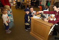 Halloween Parade and Party at Gilford Public Library Wednesday, October 31, 2012.  (Karen Bobotas/for the Laconia Daily Sun)