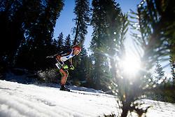 Arnd Peiffer (GER) during Men 15 km Mass Start at day 4 of IBU Biathlon World Cup 2015/16 Pokljuka, on December 20, 2015 in Rudno polje, Pokljuka, Slovenia. Photo by Ziga Zupan / Sportida