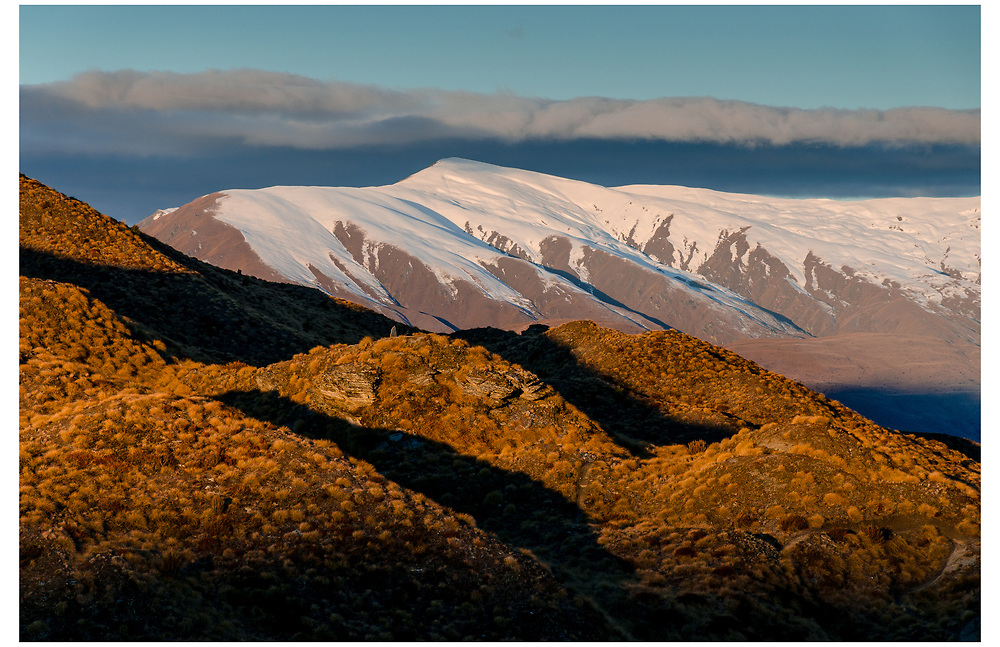 Crown Ranges from Skippers Saddle, Queenstown, Otago.