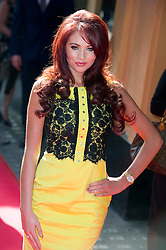 © Licensed to London News Pictures 09/02/2011 London, UK. .Amy Childs arrives at the Waldorf Hotel, London for the seventh Tesco Mum of the Year Awards..Photo credit : Simon Jacobs/LNP