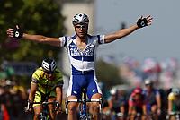 Sykkel<br /> Tour de France 2003<br /> Foto: Digitalsport<br /> <br /> NORWAY ONLY<br /> <br /> CYCLING - TOUR DE FRANCE 2003 - STEP6 - NEVERS > LYON - 11072003 - PHOTO: CROSNIER MILLEREAU / DPPI<br /> ALESSANDRO PETACCHI (ITA) / FASSA BORTOLO