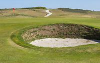DOMBURG - green hole 6  van de Domburgsche Golf Club in Zeeland (Walcheren) . , COPYRIGHT KOEN SUYK