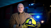 FIREMAN RETIRES ON THE SAME DAY HIS SON STARTS WITH THE SERVICE.<br /> PIC OF PETERHEAD FIREMAN TERRY POOLE AT THE TOWN'S STATION WHERE HIS SON KOBI WILL START NEXT MONTH.<br /> PIC DEREK IRONSIDE / NEWSLINE MEDIA
