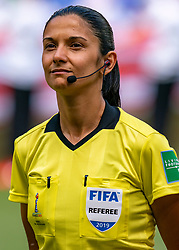 07-07-2019 FRA: Final USA - Netherlands, Lyon<br /> FIFA Women's World Cup France final match between United States of America and Netherlands at Parc Olympique Lyonnais. USA won 2-0 / Referee Claudia UMPIERREZ