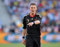 Fotball<br /> VM 2010<br /> Tyskland v Argentina<br /> 03.07.2010<br /> Foto: Witters/Digitalsport<br /> NORWAY ONLY<br /> <br /> Bastian Schweinsteiger (Deutschland)<br /> Fussball WM 2010 in Suedafrika, Viertelfinale, Argentinien - Deutschland