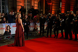 November 3, 2016 - London, United Kingdom - Image ©Licensed to i-Images Picture Agency. 03/11/2016. London, United Kingdom. Joanna Froggatt attends the World Premiere of A Street Cat Named Bob. Picture by Chris Joseph / i-Images (Credit Image: © Chris Joseph/i-Images via ZUMA Wire)