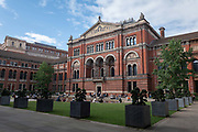 The Madejski Garden at the V&A on the 25th September 2019 in London in the United Kingdom.