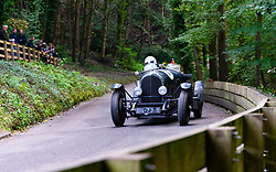 Boness Revival hillclimb motorsport event in Boness, Scotland, UK. The 2019 Bo'ness Revival Classic and Hillclimb, Scotland's first purpose-built motorsport venue, it marked 60 years since double Formula 1 World Champion Jim Clark competed here.  It took place Saturday 31 August and Sunday 1 September 2019. 7. Jock Mackinnon. Bentley 3 Litre Tourer