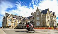 29-09-2013 Santander<br /> IV Gran Carrera Motos Clasicas en el Palacio de la Magdalena<br /> Julio Barrio Chicote, con la moto  Bultaco Metralla 62 250<br /> Fotos: Juan Manuel Serrano Arce