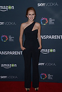 ELIZABETH MCLAUGHLIN at the premiere of Amazon's 'Transparent' season two at the Pacific Design Center in Los Angeles, California