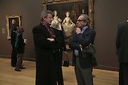 Sir Christopher Frayling and Gerald Scarfe, Hogarth private view and dinner. Tate Britain. London. 5 February 2007.  -DO NOT ARCHIVE-© Copyright Photograph by Dafydd Jones. 248 Clapham Rd. London SW9 0PZ. Tel 0207 820 0771. www.dafjones.com.