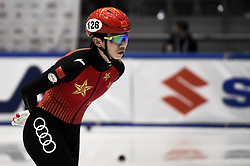February 8, 2019 - Torino, Italia - Foto LaPresse/Nicolò Campo .8/02/2019 Torino (Italia) .Sport.ISU World Cup Short Track Torino - 1500 meter Men Quater Finals.Nella foto: Songnan Yu..Photo LaPresse/Nicolò Campo .February 8, 2019 Turin (Italy) .Sport.ISU World Cup Short Track Turin - 1500 meter Men Quater Finals.In the picture: Songnan Yu (Credit Image: © Nicolò Campo/Lapresse via ZUMA Press)