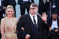 President of the Venezia 75 competition Jury,  director Guillermo del Toro and screenwriter Kim Morgan at the First Man Premiere, Opening Ceremony and Lifetime Achievement Award To Vanessa Redgrave at the 75th Venice Film Festival, Sala Grande on Wednesday 29th August 2018, Venice Lido, Italy.