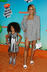 March 23, 2019 - Los Angeles, CA, USA - LOS ANGELES, CA - MARCH 23: Serayah McNeill and Yana attends Nickelodeon's 2019 Kids' Choice Awards at Galen Center on March 23, 2019 in Los Angeles, California. Photo: CraSH for imageSPACE (Credit Image: © Imagespace via ZUMA Wire)