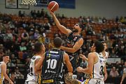 Taylor Hawks Ethan Rusbatch puts up a shot in the Sal's NBL Basketball match, Taylor Hawks v EnviroNZ Bulls, Pettigrew Green Arena, Napier, Saturday, June 26, 2021. Copyright photo: Kerry Marshall / www.photosport.nz