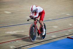 March 2, 2019 - Pruszkow, Poland - Justyna Kaczkowska (POL) competes in the Women's individual pursuit on day four of the UCI Track Cycling World Championships held in the BGZ BNP Paribas Velodrome Arena on March 02 2019 in Pruszkow, Poland. (Credit Image: © Foto Olimpik/NurPhoto via ZUMA Press)