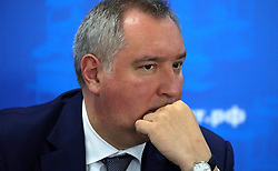 June 27, 2017 - Izhevsk, Republic of Udmurtia, Russia - June 27, 2017. - Russia, Republic of Udmurtia, Izhevsk. - Russian Deputy Prime Minister Dmitry Rogozin at a joint meeting of the Union of Russian Machine-Builders bureau and the League for the Support of Defense Enterprises bureau at a Kalashnikov Group facility. (Credit Image: © Russian Look via ZUMA Wire)