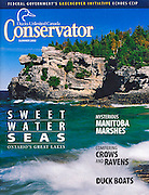 PRODUCT: Magazine<br /> TITLE: <br /> CLIENT: The Conservator