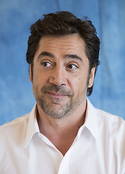 May 20, 2017 - Hollywood, California, U.S. - JAVIER BARDEM promotes 'Pirates of the Caribbean: Dead Men Tell No Tales.' Javier Bardem (born March 1, 1969) is a Spanish actor. Bardem won the Academy Award for Best Supporting Actor for his role as the psychopathic assassin Anton Chigurh in No Country for Old Men. Bardem has also won a Screen Actors Guild Award, a BAFTA, five Goya Awards, two European Film Awards, a Prize for Best Actor at Cannes and two Volpi Cups at Venice for his work. He is the first Spanish actor to be nominated for an Oscar (Best Actor, 2000, for Before Night Falls), as well as the first Spaniard to win one. He received his third Academy Award nomination, and second Best Actor nomination, for the film Biutiful. Untitled Frankenstein Monster Project (2019), Untitled Asghar Farhadi Project (2018), Mother! (2017), Escobar (2017), Pirates of the Caribbean: Dead Men Tell No Tales (2017).  (Credit Image: © Armando Gallo via ZUMA Studio)