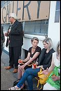 BRIAN CATLING;, PENELOPE CURTIS; ELIZABETH PRICE, Matt's Gallery 35th birthday fundraising supper.  42-44 Copperfield Road, London E3 4RR. 12 June 2014.