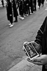 immaginetta della Madonna detta Desolata