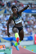 Caterine Ibarguen (COL) competes in Triple Jump Women during the Meeting de Paris 2018, Diamond League, at Charlety Stadium, in Paris, France, on June 30, 2018 - Photo Julien Crosnier / KMSP / ProSportsImages / DPPI