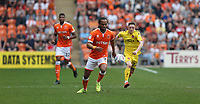 Blackpool's Nathan Delfouneso and Fleetwood Town's Ashley Hunter<br /> <br /> Photographer Stephen White/CameraSport<br /> <br /> The EFL Sky Bet League One - Blackpool v Fleetwood Town - Monday 22nd April 2019 - Bloomfield Road - Blackpool<br /> <br /> World Copyright © 2019 CameraSport. All rights reserved. 43 Linden Ave. Countesthorpe. Leicester. England. LE8 5PG - Tel: +44 (0) 116 277 4147 - admin@camerasport.com - www.camerasport.com<br /> <br /> Photographer Stephen White/CameraSport<br /> <br /> The EFL Sky Bet Championship - Preston North End v Ipswich Town - Friday 19th April 2019 - Deepdale Stadium - Preston<br /> <br /> World Copyright © 2019 CameraSport. All rights reserved. 43 Linden Ave. Countesthorpe. Leicester. England. LE8 5PG - Tel: +44 (0) 116 277 4147 - admin@camerasport.com - www.camerasport.com