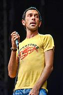 Rick Witter, Shed Seven / V Festival 2008, Hylands Park, Chelmsford, Essex, Britain - August 2008.