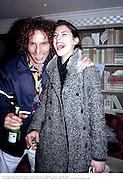 Petrina Khashoggi and Robert Pereno, Tatler Spring party. Mirabelle. London. 29 April 1998. © Copyright Photograph by Dafydd Jones 66 Stockwell Park Rd. London SW9 0DA Tel 020 7733 0108 www.dafjones.com