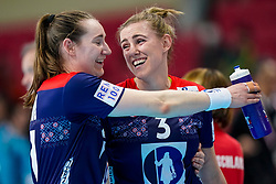 11-12-2019 JAP: Norway - Germany, Kumamoto<br /> Last match Main Round Group1 at 24th IHF Women's Handball World Championship, Norway win the last match against Germany with 32 - 29. / Emilie Hegh Arntzen #3 of Norway
