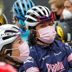 04-04-2021: Wielrennen: Ronde van Vlaanderen (Vrouwen): Oudenaarde<br />Ceylin Del Carmen Alvarado