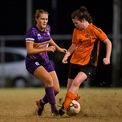 BRISBANE, AUSTRALIA - AUGUST 12:  during the round 17 PlayStation 4 National Premier Leagues Queensland match between Eastern Suburbs and The Gap FC on August 12, 2017 in Brisbane, Australia. (Photo by Eastern Suburbs FC / Patrick Kearney)