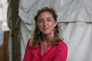Claire Bertschinger, the nurse whose work in 1985 in Ethiopia sparked the Live Aid charity is pictured at the Edinburgh International Book Festival prior to talking about her remarkable new memoir. The Edinburgh International Book Festival is the world's largest literary event, with over 500 authors from across the world participating each year and ran from 13-29 August. Edinburgh was named the world's first UNESCO City of Literature in 2004.