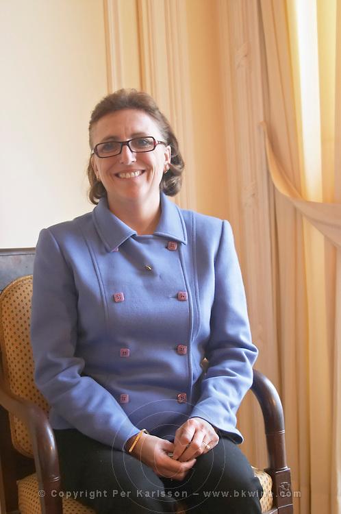 Nathalie Schyler. Chateau Kirwan, Margaux, Medoc, Bordeaux, France