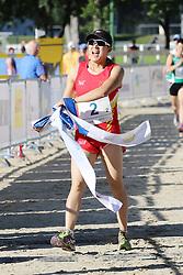 30.06.2015, Olympiapark Berlin, Berlin, GER, moderner Fünfkampf WM, Staffelbewerb Damen, im Bild Die Chinesinnen Wanxia Liang und Qian Chen (im Bild) verteidigten ihren WM-Titel von 2014 in der Staffel // during Women's relay race of the the world championship of Modern Pentathlon at the Olympiapark Berlin in Berlin, Germany on 2015/06/30. EXPA Pictures © 2015, PhotoCredit: EXPA/ Eibner-Pressefoto/ Hundt<br /> <br /> *****ATTENTION - OUT of GER*****