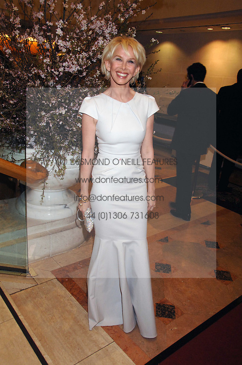 TRUDIE STYLER at the Feast of Albion a sumptious locally-sourced banquet in aid of The Soil Association held at The Guildhall, City of London on 12th March 2008.<br />