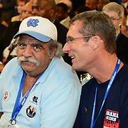 Delegate(s) on the floor of the 2012 Democratic National Convention