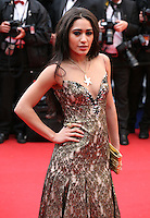 Josephine Jobert at the red carpet for the gala screening of Jimmy P. Psychotherapy of a Plains Indian film at the Cannes Film Festival 18th May 2013