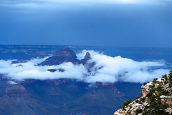 OCT 6, 2016: View on the canyons from the North Rim of the Grand Canyon in Arizona, Richey Miller/CSM(Credit Image: © Richey Miller/Cal Sport Media)