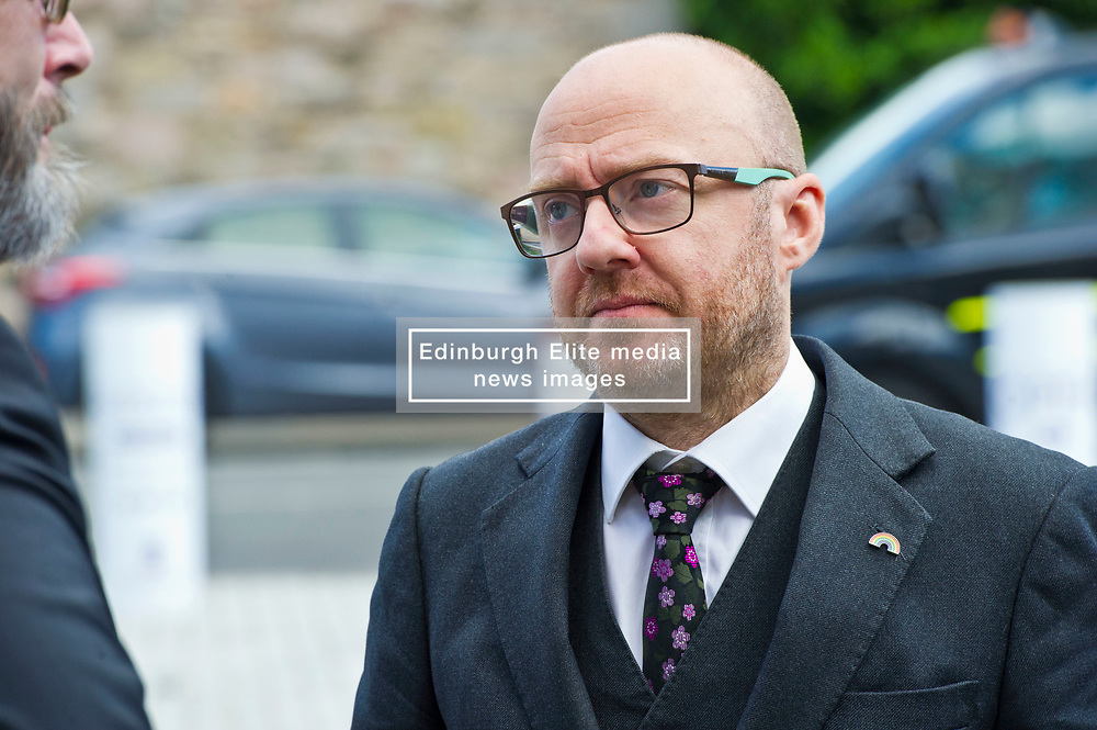 Pictured: Partrick Harvie, co-leader of the Scottish Greens<br /> <br /> The No 3rd Runway Coalition was at the Scottish Parliament today to urge the SNP to change their position on supporting the Heathrow third runway proposal and to send the UK Government a message to 'think again'. Campaigners will be joined by MSPs from Scottish Greens, and SNP to highlight the environmental damage to Scotland and the rest of the UK that building a third runway would mean, as well as the fact that Scottish airports would suffer as a result.  Campaigners also believe that the SNP appear to be too trusting of UK Government promises – particularly in relation to the impact on Climate Change commitments - as revealed by Keith Brown, Cabinet Secretary for Economy, Jobs and Fair Work, in response to a question from Patrick Harvie MSP in the Scottish Parliament last Thursday.<br /> <br /> The Labour party announced their formal opposition to the proposal on Wednesday, on the basis that the UK Government's Airports National Policy Statement failed all four of party's tests on climate change, delivering extra capacity, air pollution and benefits to be felt outside of London. Additionally, the long-awaited UK Government mitigation framework for international aviation emissions won't be published for many months after MPs have been asked to support the Heathrow proposal. A recent report by the New Economics Foundation seriously calls into question the economic case – using the Department for Transport's own measures; and this is before taking into account the economic impact of Brexit <br /> <br /> <br /> <br /> Ger Harley   EEm 21 June 2018