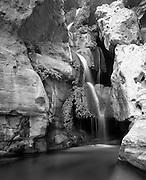 Elves Chasm, Royal Arch Creek, Colorado River mile 116.5, Grand Canyon National Park, Arizona, USA; 6 May 2008; Pentax 67II, 105mm lens, Velvia 100