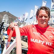 © Maria Muina I MAPFRE. Joan Vila in Cape Town. Joan Vila en Ciudad del Cabo.