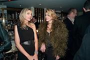 KIM HERSOV; MEREDITH OSTROM Polly Morgan 30th birthday. The Ivy Club. London. 20 January 2010