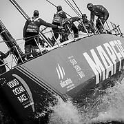 © Maria Muina I MAPFRE. Leg 9 Arrival to Cardiff. Llegada de la etapa 9 a Cardiff.