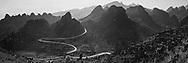 Vietnam Images-panoramic landscape-Ha Giang