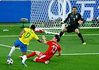 Jesus Gabriel (Brazil) and Milos Veljkovic (Serbia) <br /> Moscow 27-06-2018 Football FIFA World Cup Russia  2018 <br /> Serbia - Brazil / Serbia - Brasile<br /> Foto Matteo Ciambelli/Insidefoto