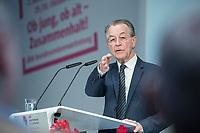 30 OCT 2018, BERLIN/GERMANY:<br /> Franz Muentefering, SPD, Vorsitzender der Bundesarbeitsgemeinschaft der Senioren- Organisationen – BAGSO und Bundesminister a.D., 2. dbb Bundesseniorenkongress, dbb Forum Berlin<br /> IMAGE: 20181030-01-089<br /> KEYWORDS: Franz Müntefering