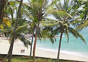 A quiet beach near Kovalam and Trivandrum (Thiruvananthapuram), Kerala, India